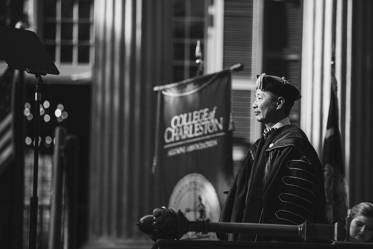 President Andrew Hsu's inauguration.
