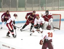 Students Push Hockey Careers into Overtime with Club Team