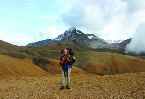 Student Digs Into Northern Exposure
