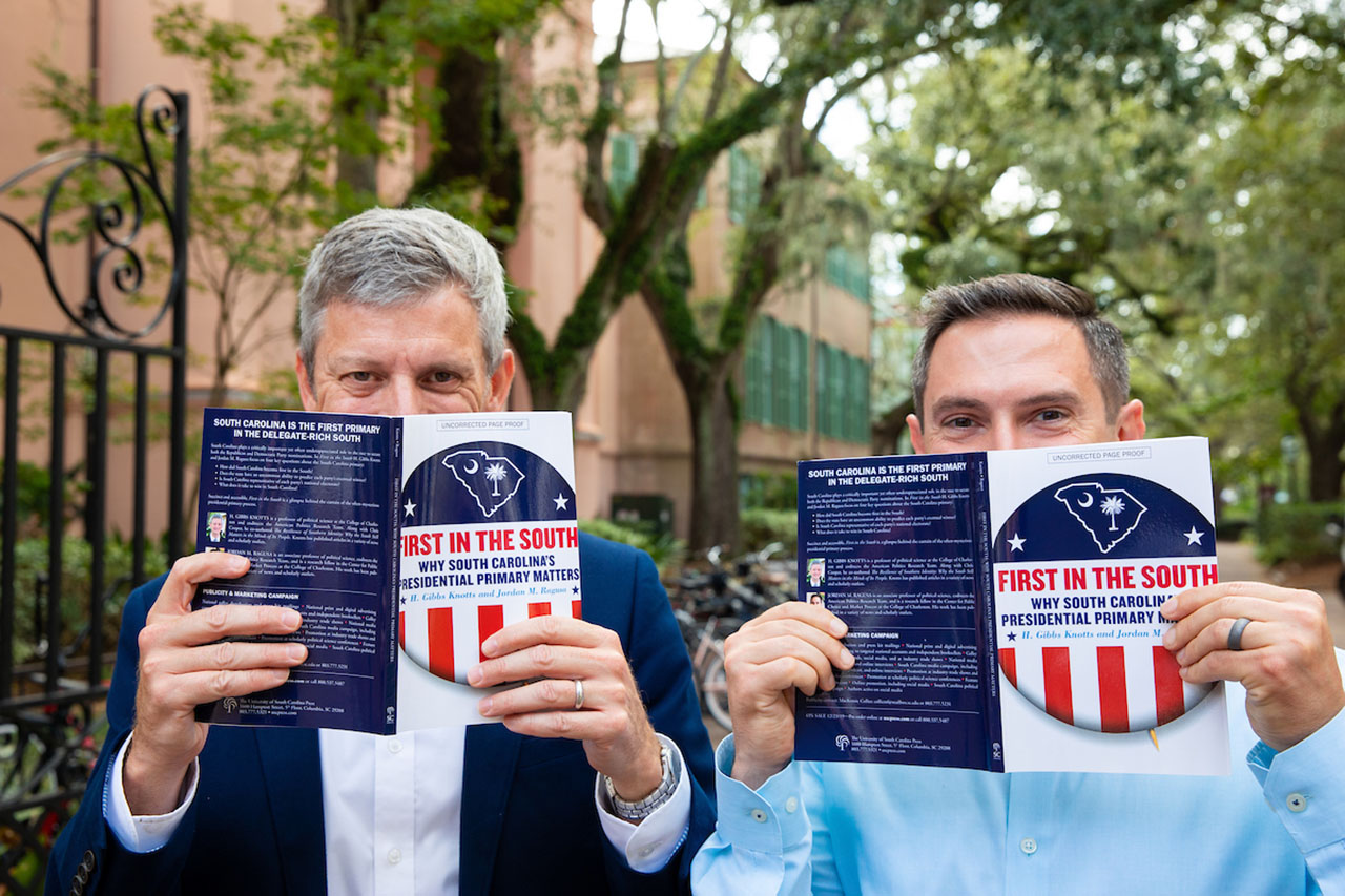 Jordan Ragusa and Gibbes Knotts, co-authors of the book First in the South: Why South Carolina's Presidential Primary Matters