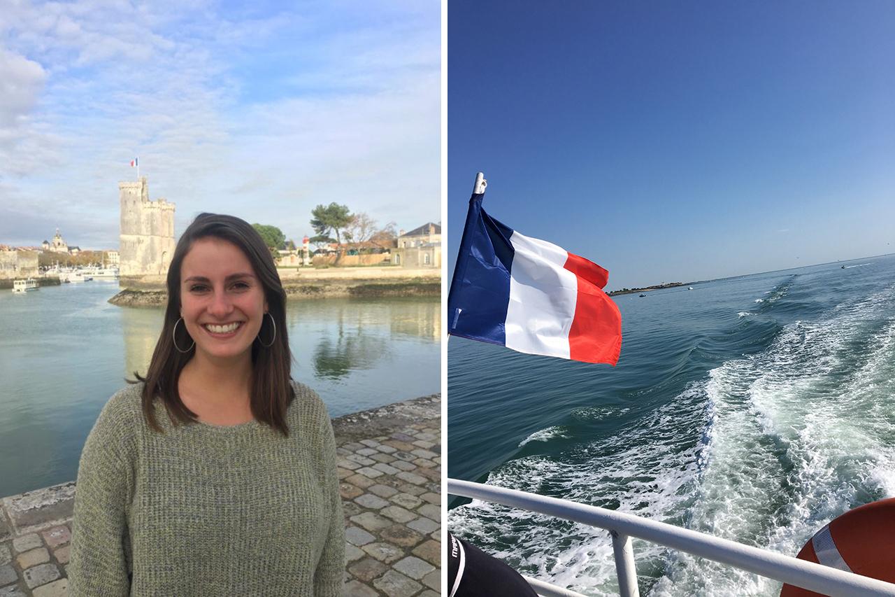 Sally Ott in France