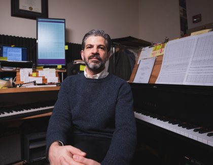 Music Professor Composes Epic Homage