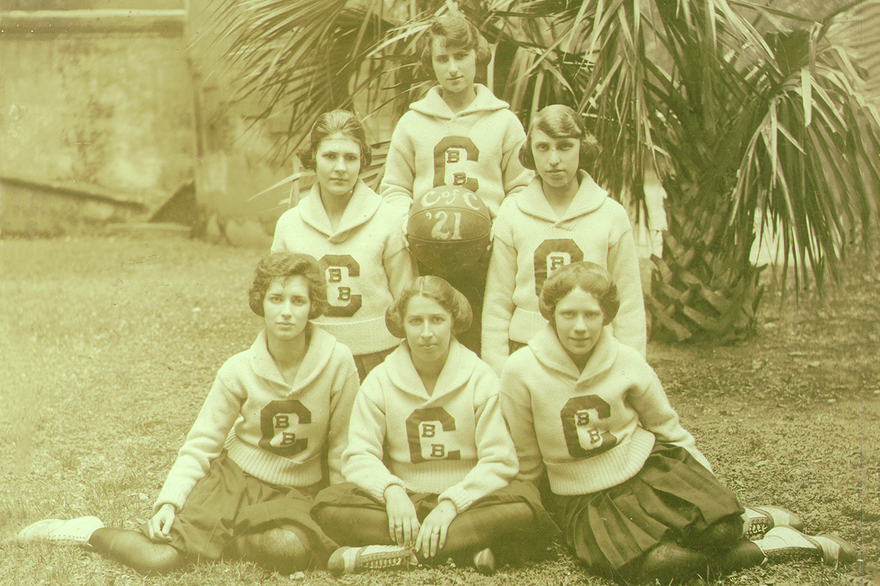 1921 womens basketball team