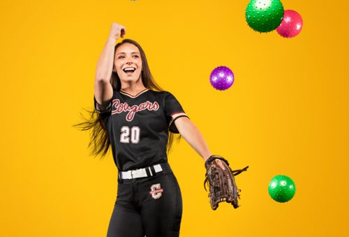 Softball Player Has Infectious Personality