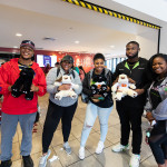 Students made stuffed animals at the Build A Friend workshop at the Stern Center on Tuesday, February 25, 2020.