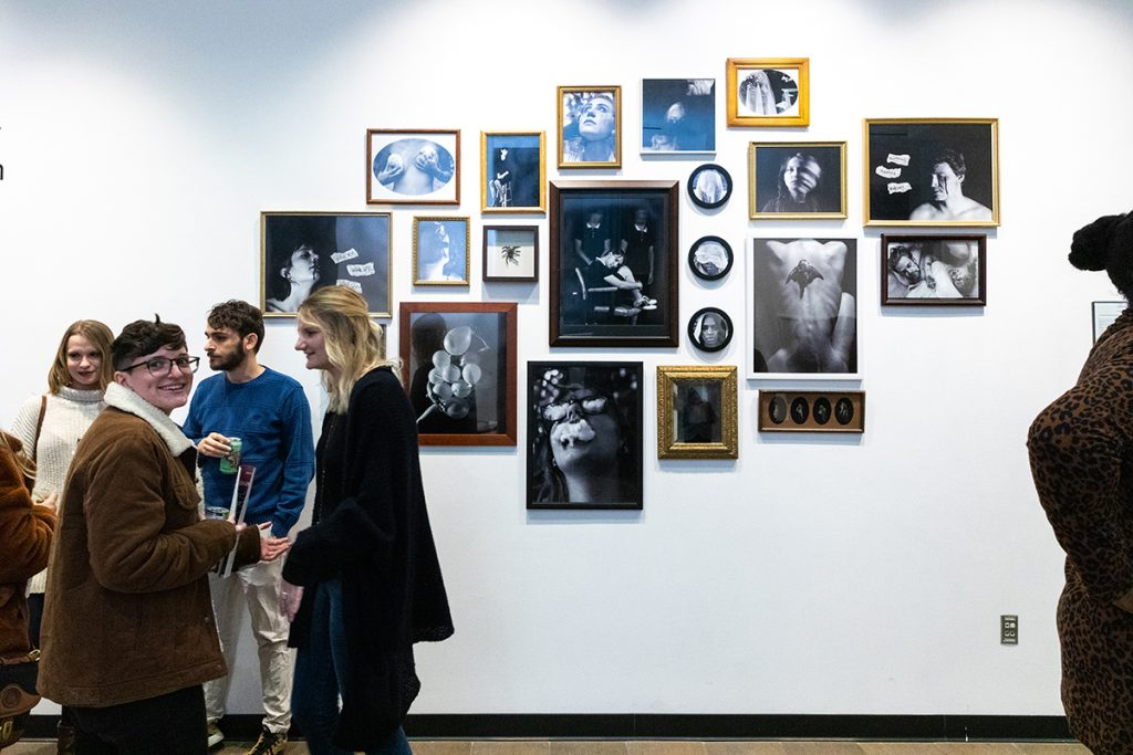 Halsey January Opening Reception featuring the work of Coulter Fussell and Butch Anthony.