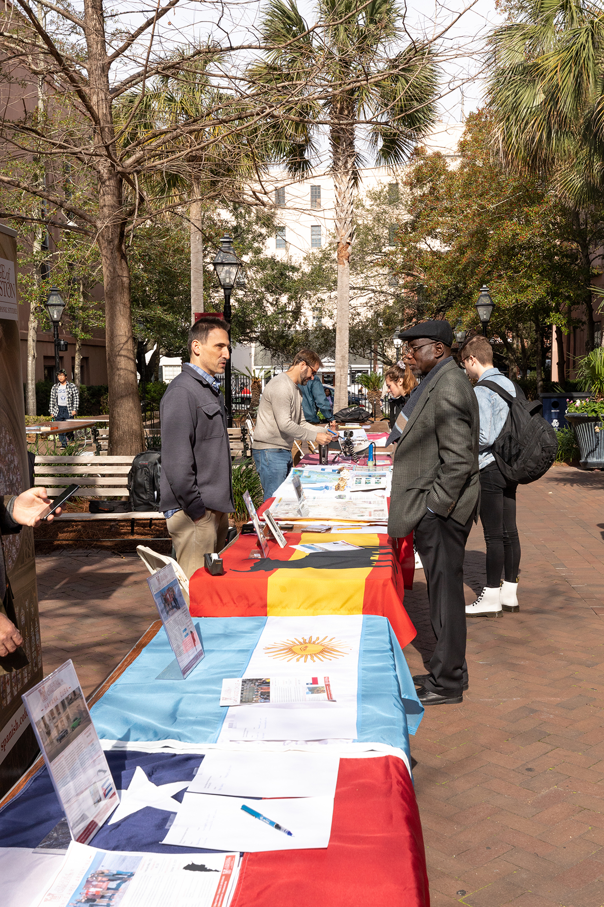 Study Abroad Fair in Cougar Mall