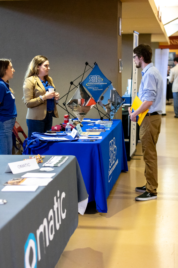 On February 13, 2020 students had the opportunity to go to the Spring 2020 Career Fair in TD Arena where they were able to meet with potential employers and explore jobs and internships.
