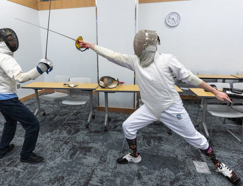 Fencing Club Keeps Students Sharp