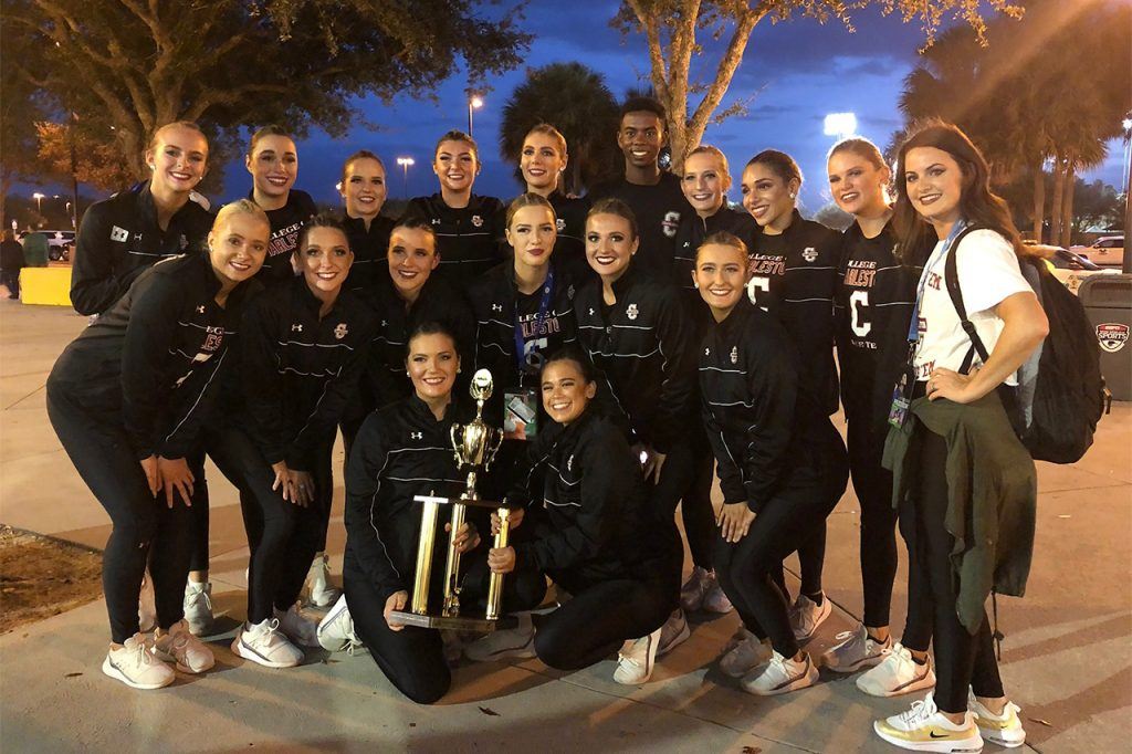 Cougarettes Take Home Fourth at national championship