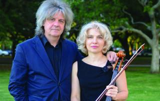 Volodymyr Vynnytsky and Natalia Khoma