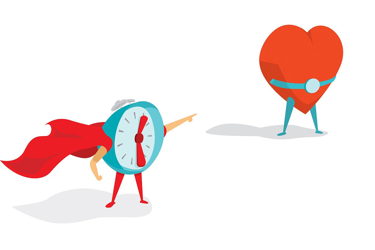 time saves heart