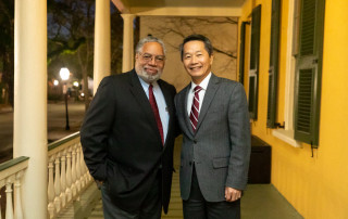 "Lonnie Bunch III, the 14th Secretary of the Smithsonian visited the College of Charleston on the evening of March 6 to talk to CofC about his experiences starting the International African American History Museum and about his book ""A Fool's Errand."""