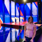 CofC student Kalea Perez at CNN town hall
