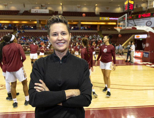 Basketball Alumna Remains Focused on the Game