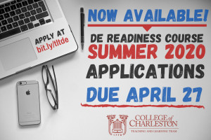 distance education deadline