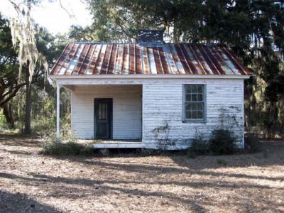 tenant cabin at Stono Preserve