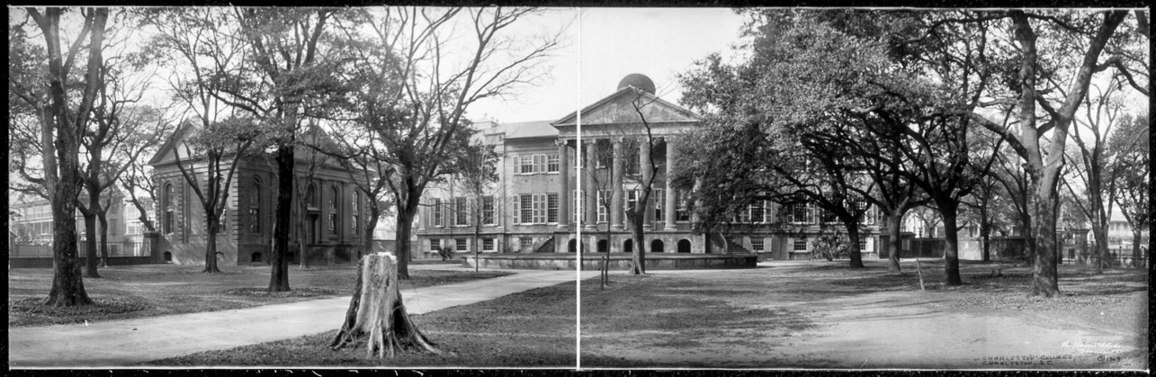 The College of Charleston, Charleston, SC circa 1909 | Library of Congress Prints and Photographs Division Washington DC