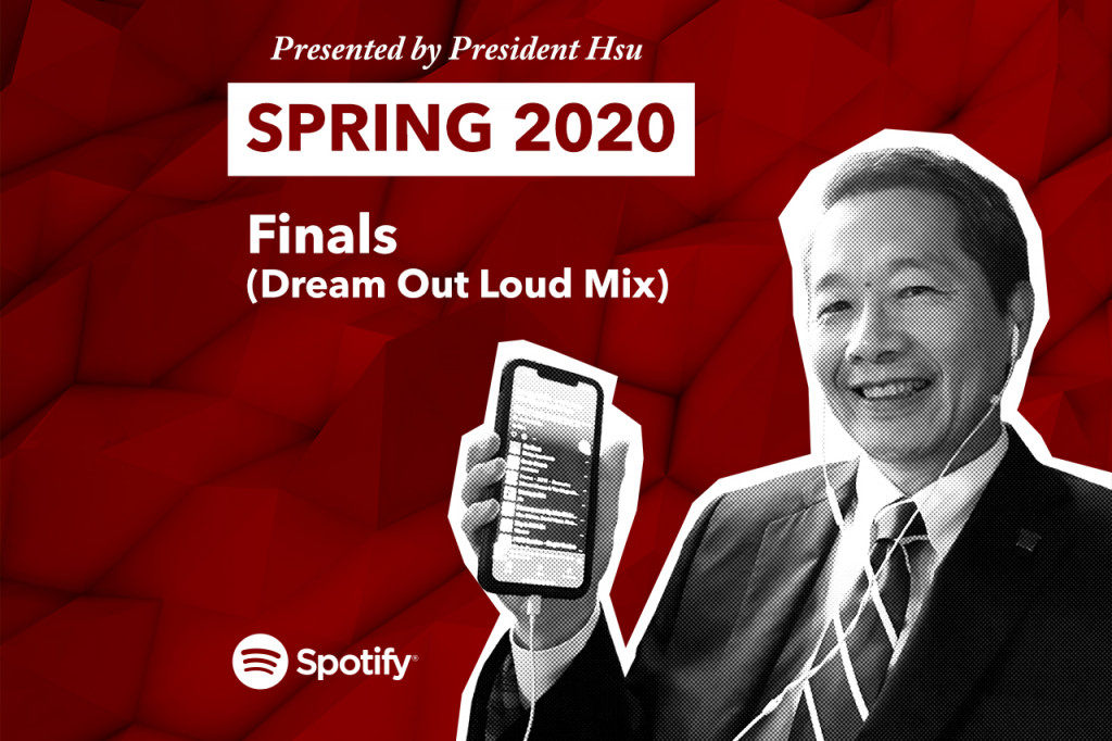 Stress Less with President Hsu's Spring Finals Playlist