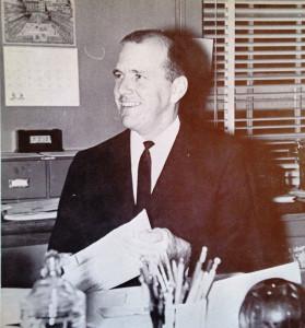 Tony Meyer CofC 1964 Yearbook photo