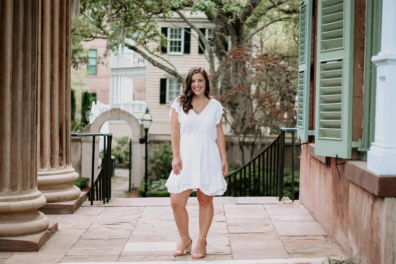 Bailey Feder, Hometown: Lexington, SC, Exercise Science Major, Future Plans: starting Physical Therapy School at University of Florida this fall. Photo provided.