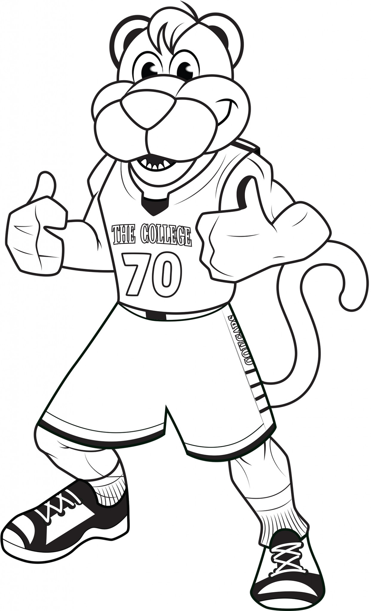 Make Cofc Your Own With These Fun Coloring Pages