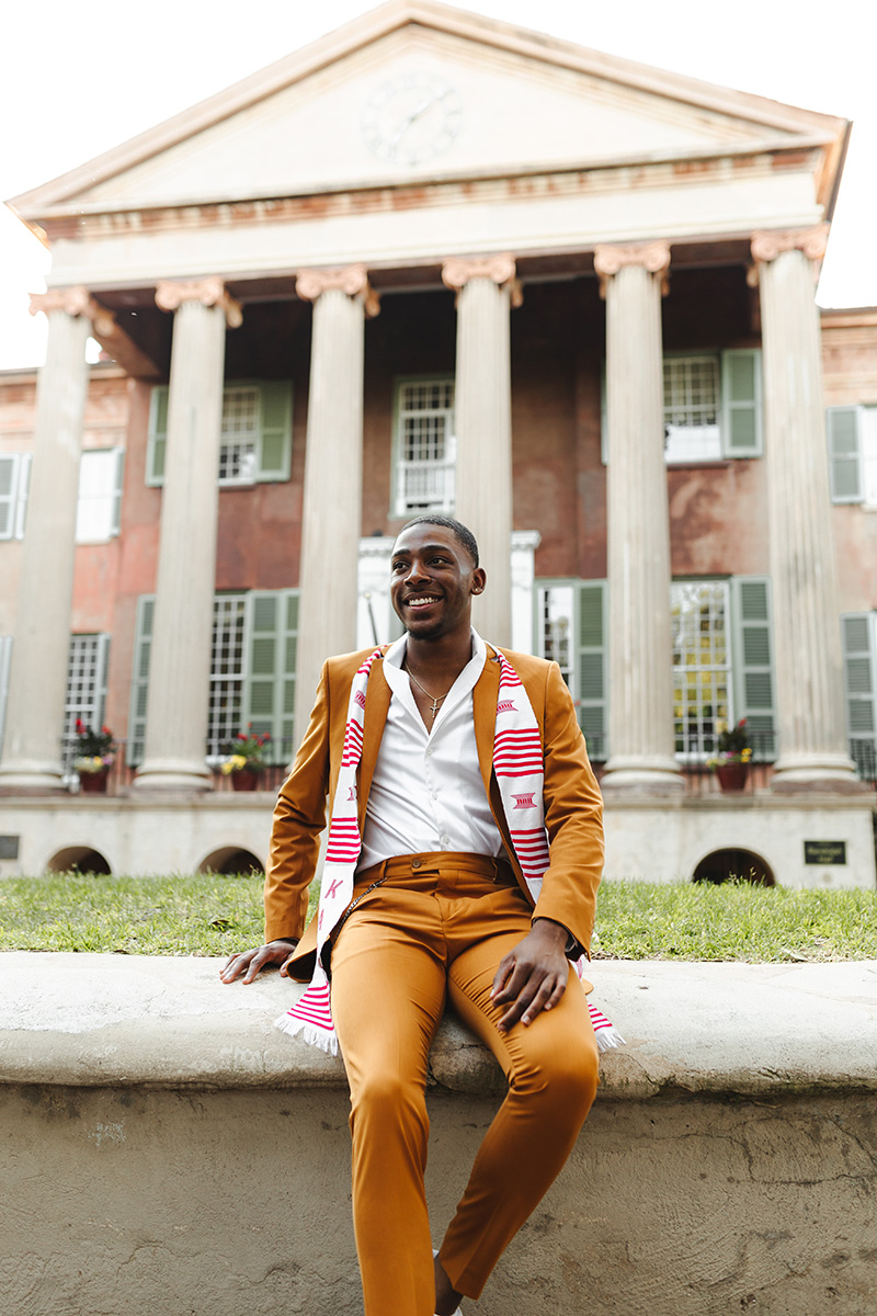 Jabbarrius N. Ervin, Hometown: Greenwood, SC, Chemistry B.S., minor in psychology. Future: I will be attending the University of South Carolina School of Medicine - Greenville in the fall.