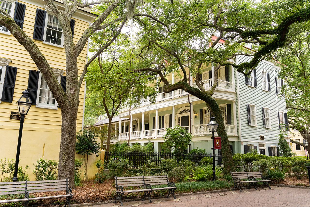 historic houses at college of charleston