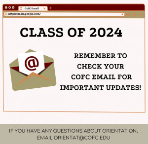 orientation email graphic