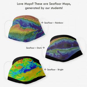 seafloor map face masks