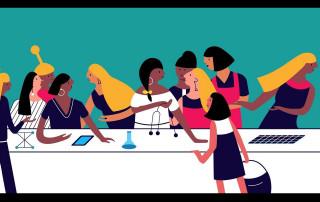 women of color entrepreneurs graphic