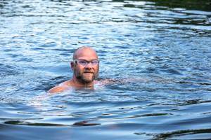 Brian Lanahan at Trophy Lakes