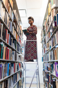 Tamara T. Butler the new Executive Director of the Avery Research Center for African American History and Culture at the College of Charleston and Associate Dean of College Libraries in the archives at the Avery.