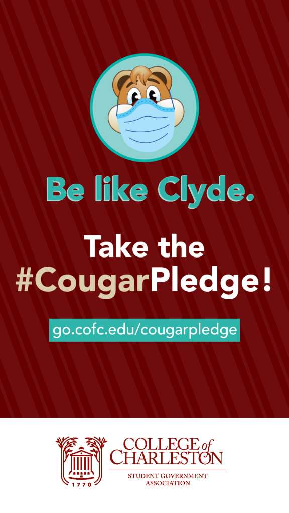 cougar pledge graphic