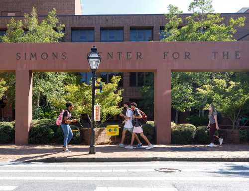 CofC Students Resume In-Person Classes