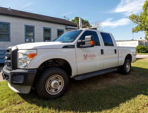 New Truck at Grice Marine Lab Has Storied Past