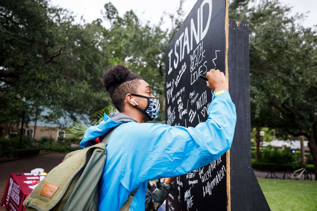 CofC Student Government hosted a Week of Action.