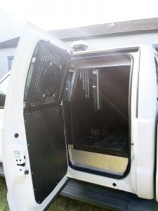 New GML Truck back door