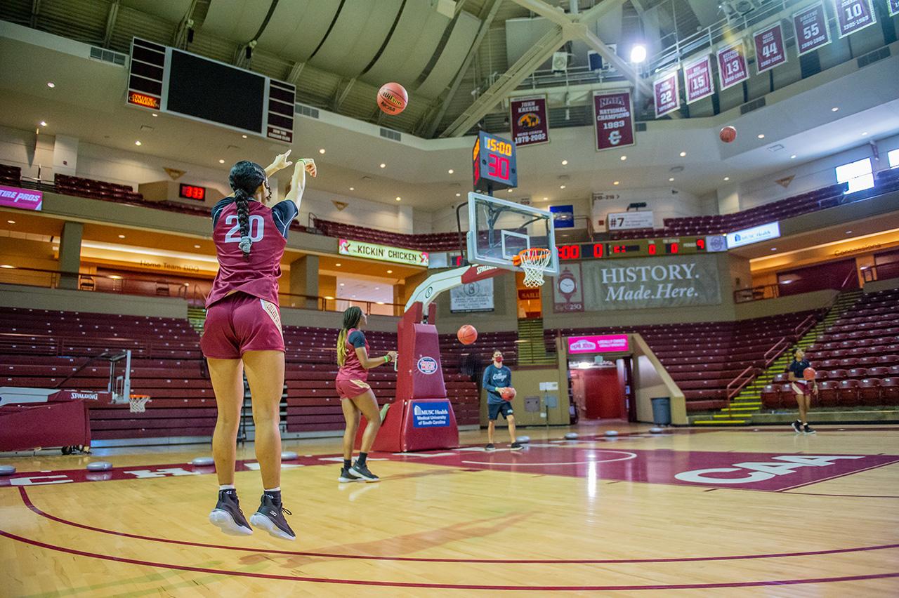 First practice Women's Basketball