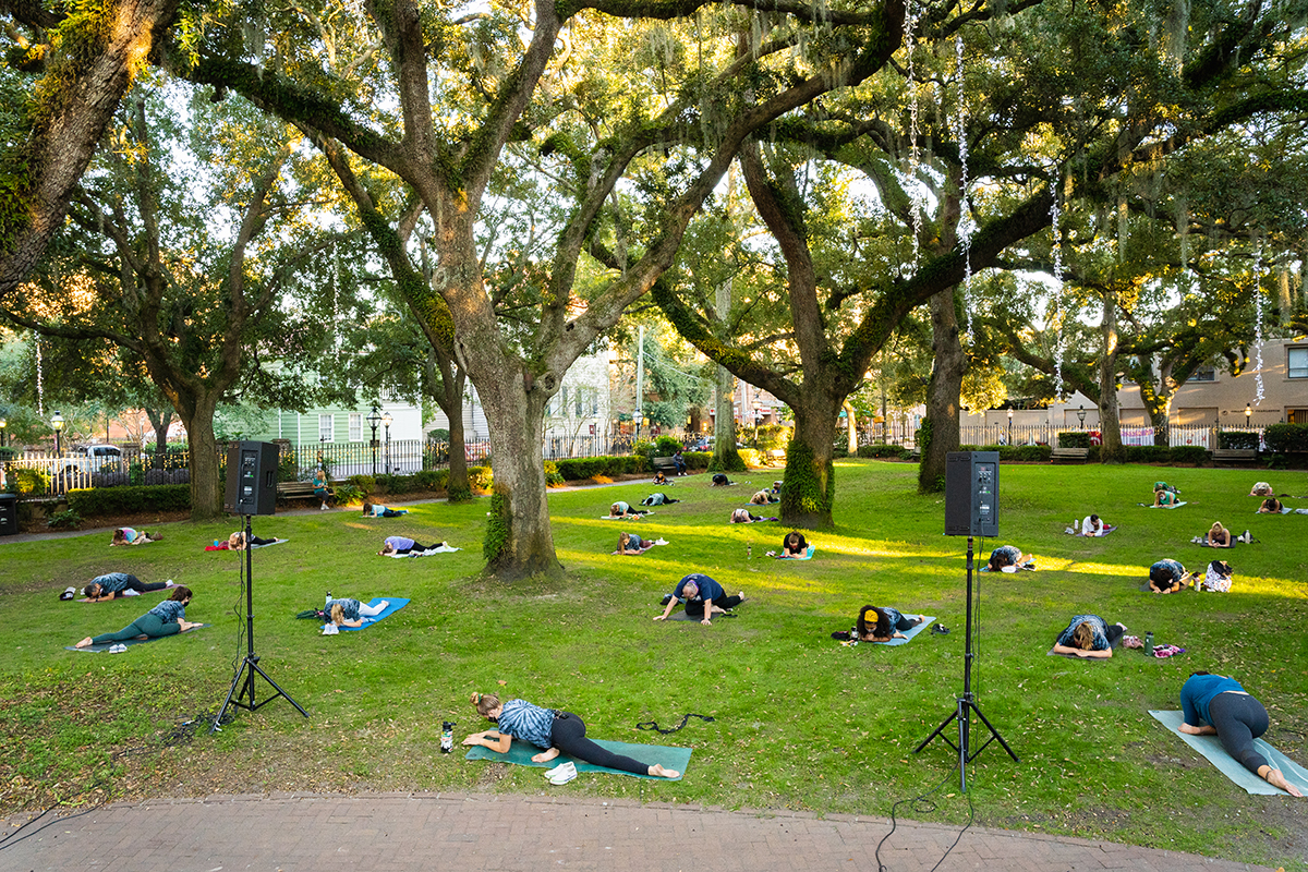 Yoga in the Cistern