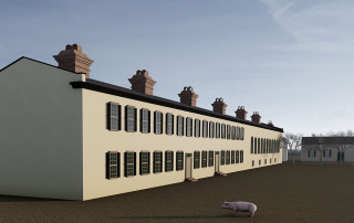 Barracks Rendering