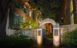 gate to cistern yard