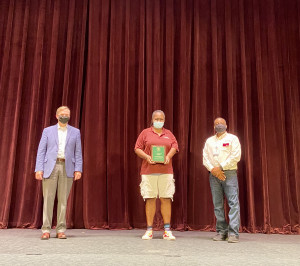 Jennifer Gillispie Receives Award
