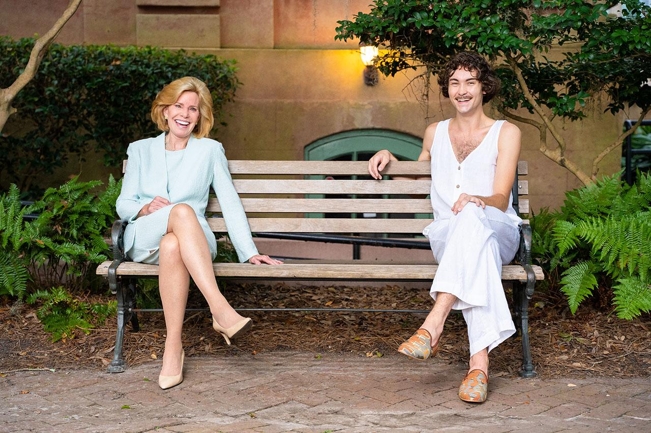 Linda Ketner and Tanner Crunelle