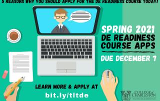 DE Readiness Course Spring 2021