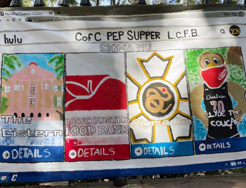 Pep Supper RaisesMoney, Supplies to Fight Food Insecurity