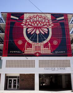 College Lodge Mural