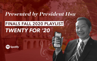 president hsu playlist graphic