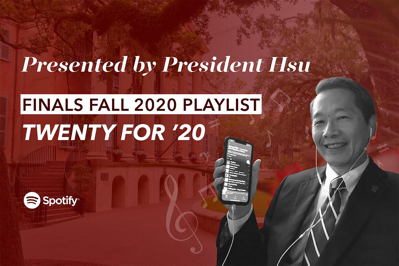president hsu playlist graphic