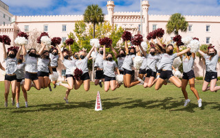 cofc cheerleaders